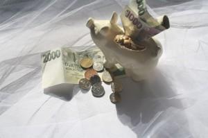 peníze pro hosty